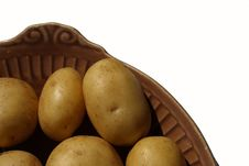 Free Isolated Potato Royalty Free Stock Photo - 5472945
