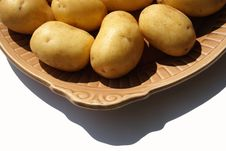 Free Isolated Potato Stock Image - 5472951