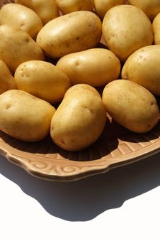 Free Isolated Potato Stock Photography - 5472952