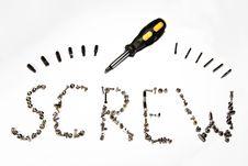 Free Screw Stock Image - 5473101