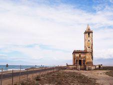 Free Iglesia De Las Salinas De Cabo De Gata Stock Photography - 5473502