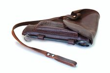 Free Old Leather Holster. Stock Photo - 5473590
