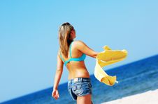 Free Enyoing Summertime Royalty Free Stock Photo - 5473625