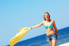 Free Enyoing Summertime Royalty Free Stock Photos - 5473628