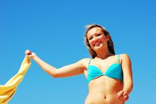 Free Enyoing Summertime Stock Photography - 5473712