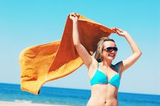 Free Enyoing Summertime Royalty Free Stock Image - 5473736