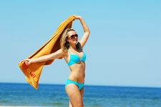 Free Enyoing Summertime Royalty Free Stock Photos - 5473748