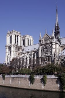 Free Notre Dame De Paris, Gothic Cathedral, France Stock Photography - 5473932