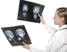 Free Scull X-ray Stock Photo - 5474180