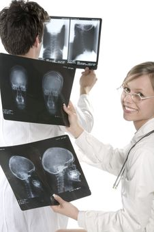 Free Scull X-ray Royalty Free Stock Photography - 5474247