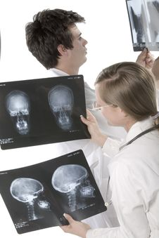 Free Scull X-ray Stock Photo - 5474260