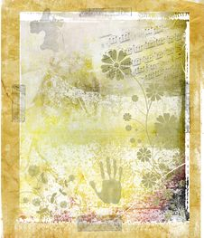 Free Abstract Grunge Background Royalty Free Stock Photography - 5474297