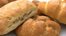 Free Assorted Bread Rolls Royalty Free Stock Photo - 5474305