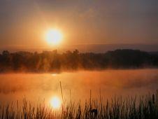 Free Misty Lake Stock Photos - 5474803