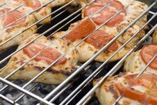 Free Grilled Delicious Kebabs Stock Image - 5474901