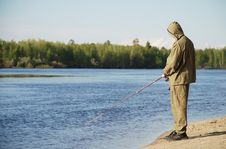 Free Fisherman Royalty Free Stock Photography - 5475217