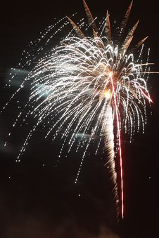Free Celebratory Fireworks Royalty Free Stock Photography - 5475317