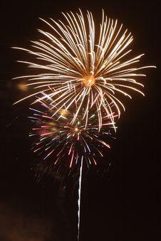 Free Celebratory Fireworks Stock Images - 5475444