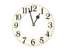 Free Clock-face Stock Image - 5475851