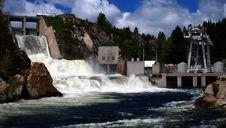 Cascade Dam 3 Stock Photography