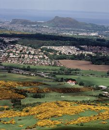 Free View Of The City Of Edinburgh,Scotland. Royalty Free Stock Images - 5476339