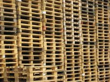 Free Wooden Pallets Stock Images - 5477084