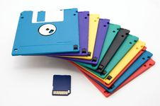 Floppy* Stock Photo