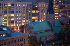 Free Church City Stock Photography - 5479042