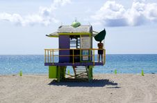 Free Miami Beach Stock Image - 5479611