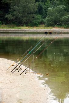 Free Fishing Tackles Royalty Free Stock Photo - 5479895