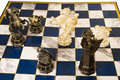 Free Fragment Of A Chess Party Stock Images - 5484564