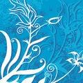 Free Floral Grunge Background Stock Image - 5488861