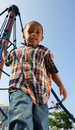 Free Boy At The Top Stock Photography - 5489402
