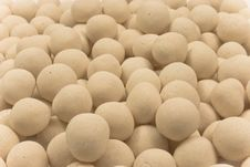 Free Sugar Covered Chickpeas White2 Royalty Free Stock Images - 5480229