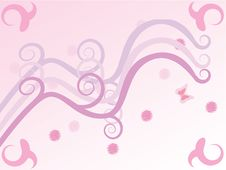 Free Pink Spring Background Royalty Free Stock Photography - 5480297