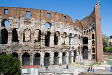 Free The Coliseum Royalty Free Stock Photography - 5480487