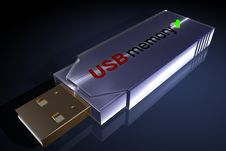USB Stick Stock Photography