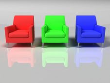 Free Isolated Sofa Stock Photos - 5482063