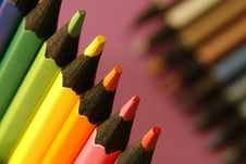 Free Background Pencils Royalty Free Stock Images - 5482449