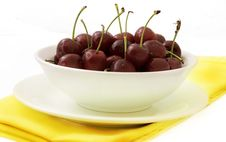 Free Bowl Of Cherries Stock Photos - 5482783