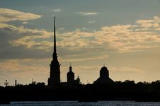Free View Of Saint-Petersburg Royalty Free Stock Photo - 5482865