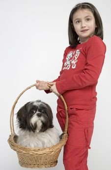 Free Child With Dog Pet Royalty Free Stock Photos - 5482918