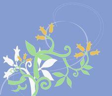 Batik Flora Royalty Free Stock Photos