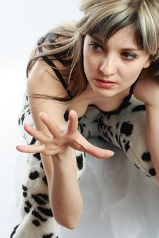 Free Fashion Photoshoot Royalty Free Stock Photography - 5483357