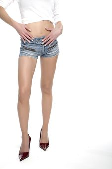 Free Legs Of A Woman Stock Photo - 5483380