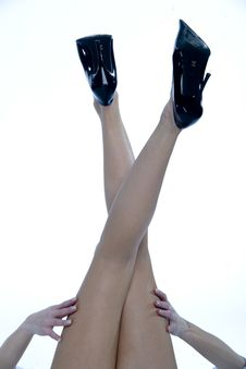 Beautiful Legs! Royalty Free Stock Photos