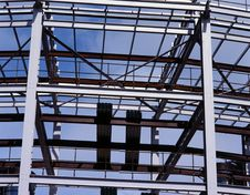 Free Offices Block Under Construction. Royalty Free Stock Photos - 5483818