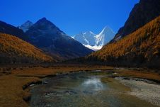 Free Yading Scenic Spots In China Stock Photography - 5483982