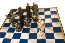 Free Fragment Of A Chess Party Stock Image - 5484611