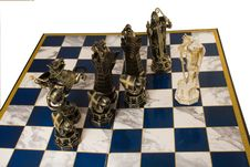Free Fragment Of A Chess Party Stock Photos - 5484663